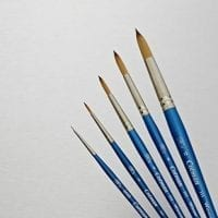 Brushes and Palette Knives